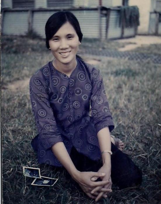 My mom in her twenties